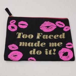 Too faced makeup bag - New